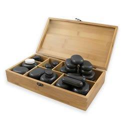 set 45 pietre per massaggio